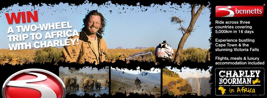 Win Ride in Africa - Bennetts