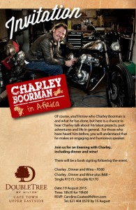 Evening with Charley Boorman